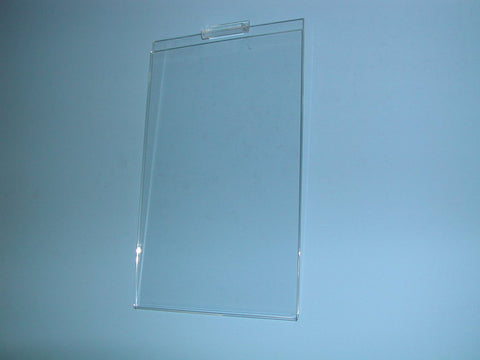 Slatwall Plexi Card Holder 11