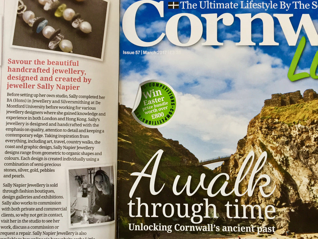 Cornwall Living magazine March 2017