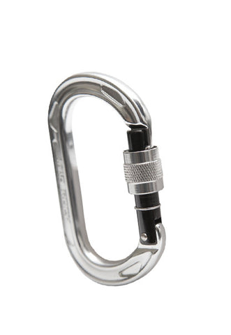 Oval Tech Screw Carabiner