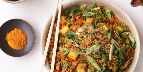 Turmeric Kale Fried Rice