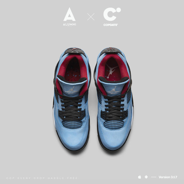 ALUMNI X COPDATE - AIR JORDAN 4 X TRAVIS SCOTT