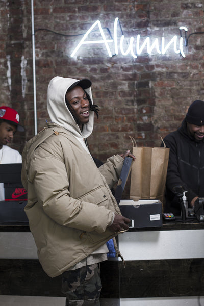 Complex Sneaker Shopping with Joey Bada$$ at Alumni Flatbush!