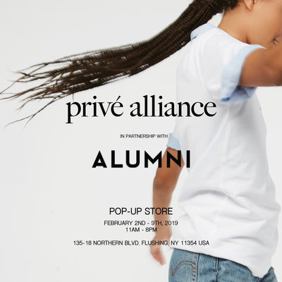 Privé Alliance x Alumni Pop-Up Shop