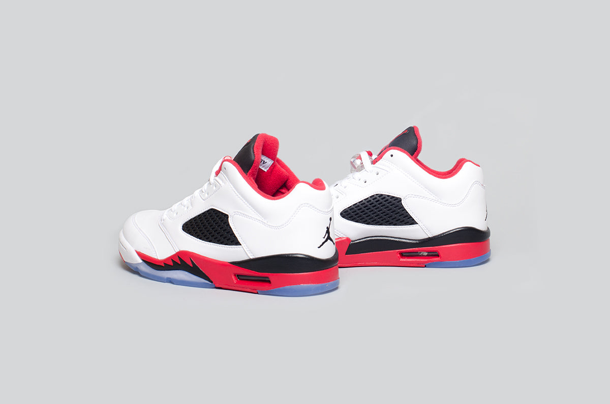 Air Jordan 5 Low Fire Red - Alumni 5