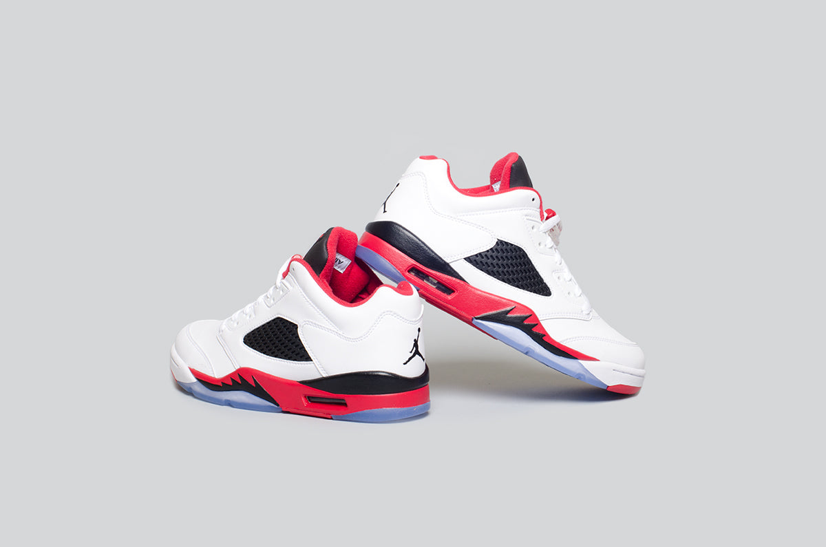 Air Jordan 5 Low Fire Red - Alumni 4