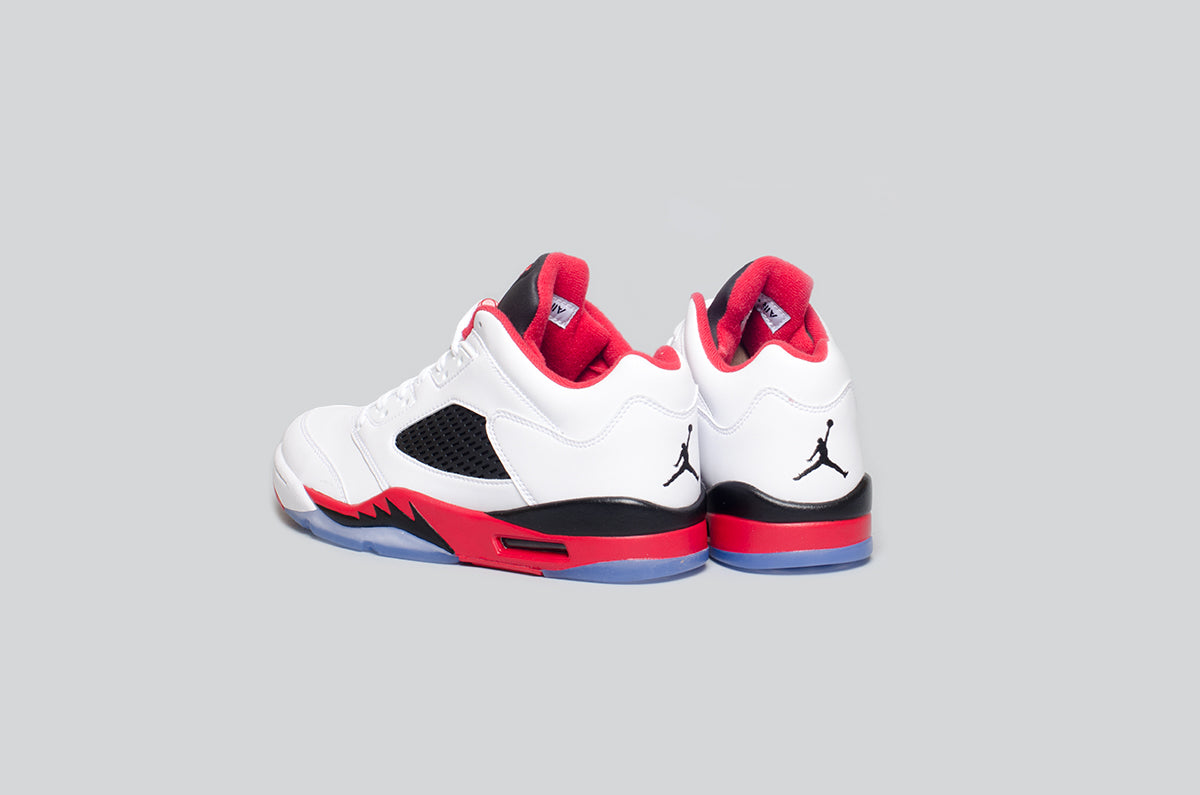 Air Jordan 5 Low Fire Red - Alumni 3