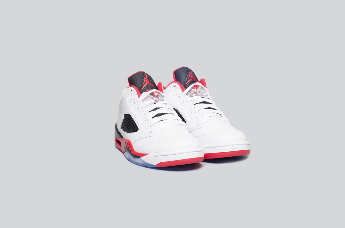 Air Jordan 5 Low Fire Red - Alumni 2