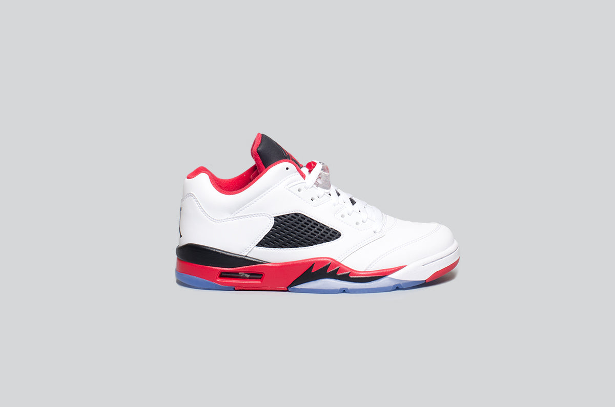 Air Jordan 5 Low Fire Red - Alumni 1