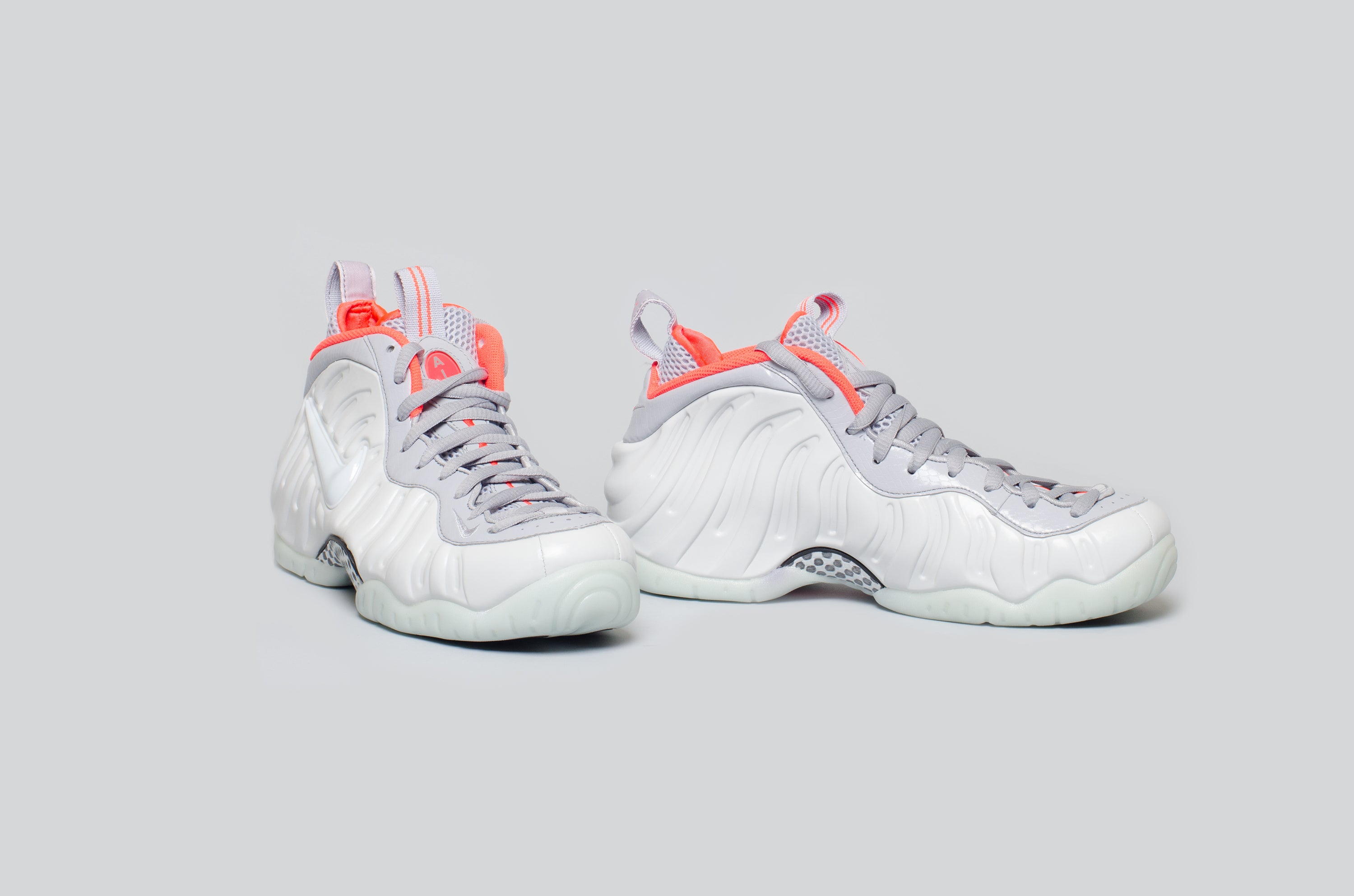 Air Foamposite Pro Pure Platinum Alumni 4