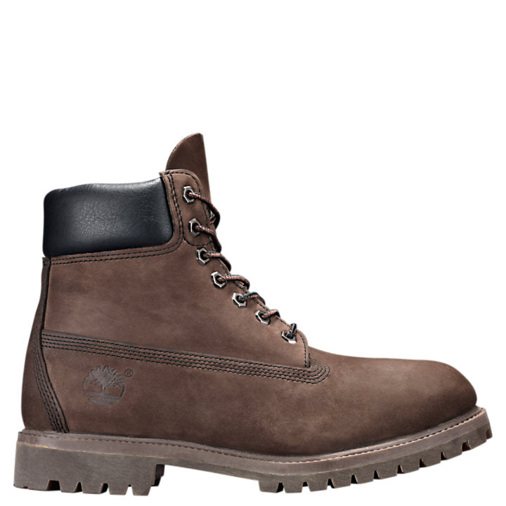 6 In Prem Gaiter BT 'Dark Brown Nubuck'