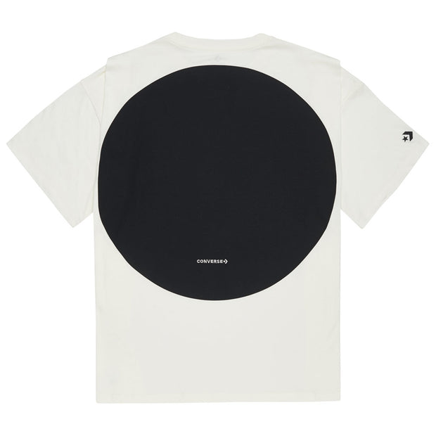 Shapes Graphic Box Tee 'Egret'