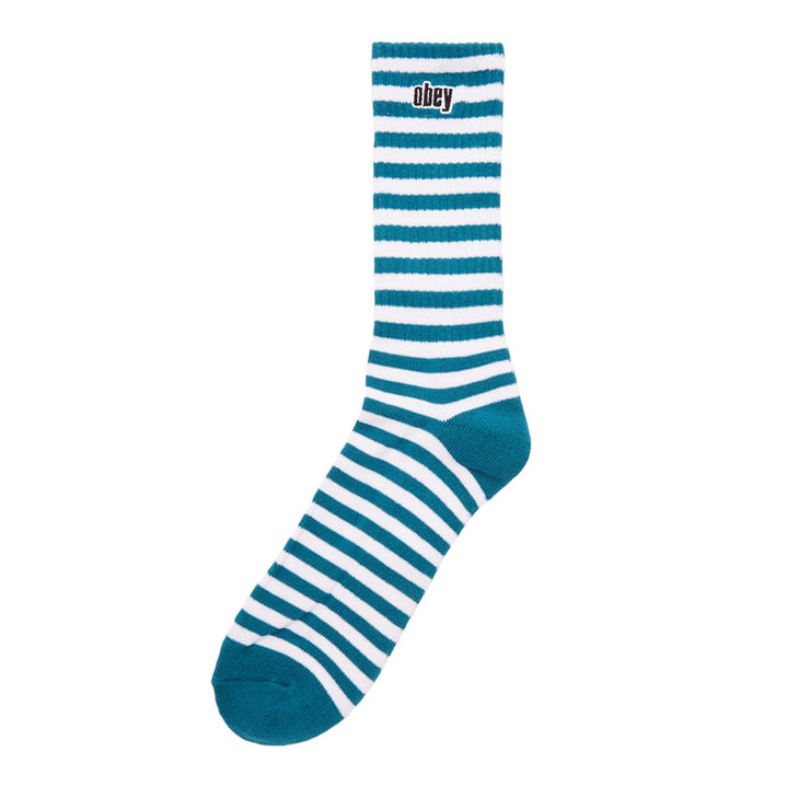 Dale Socks II 'Teal / White