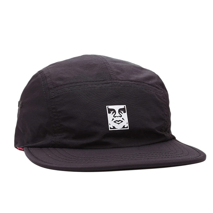 Icon Reversible 5 Panel Hat 'Black Multi'