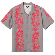 Hawaiian Pattern Shirt 'Grey'