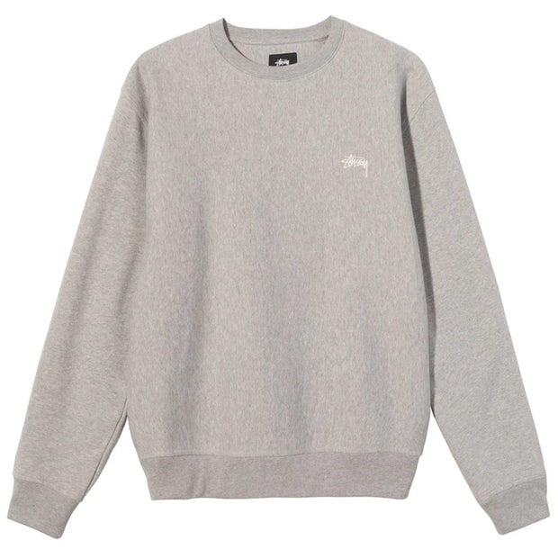 Stock Logo Crew 'Grey Heather'