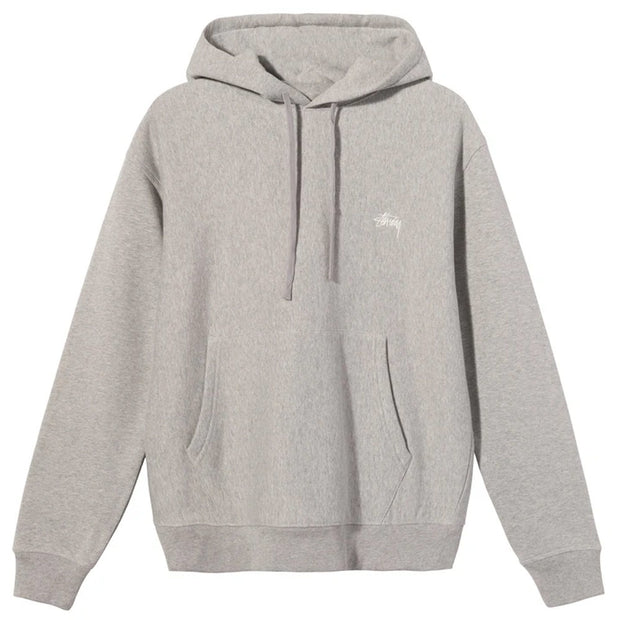 Stock Logo Hood 'Grey Heather'