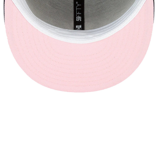NY Yankees Pink Undervisor 59FIFTY Fitted