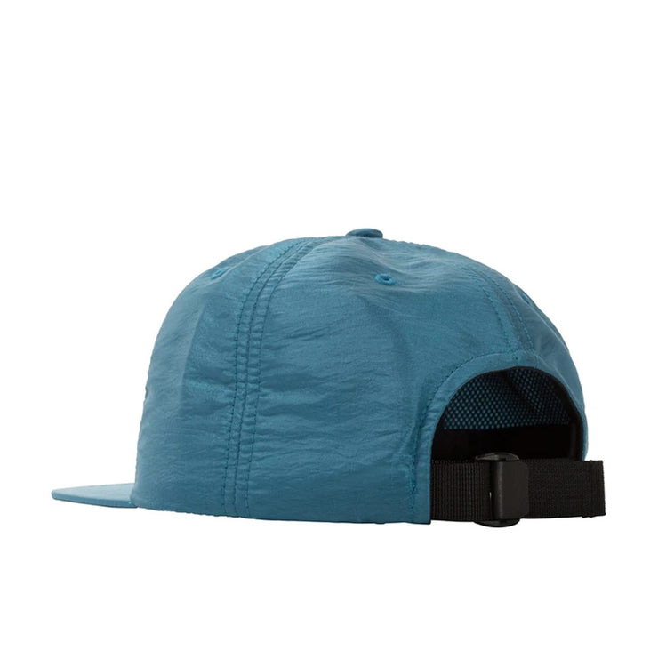 Stock Iridescent Strapback Cap 'Blue'