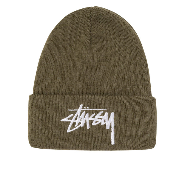 Big Stock Cuff Beanie 'Olive'