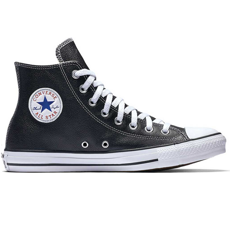 Chuck Taylor All Star Hi  'Leather Black/White'