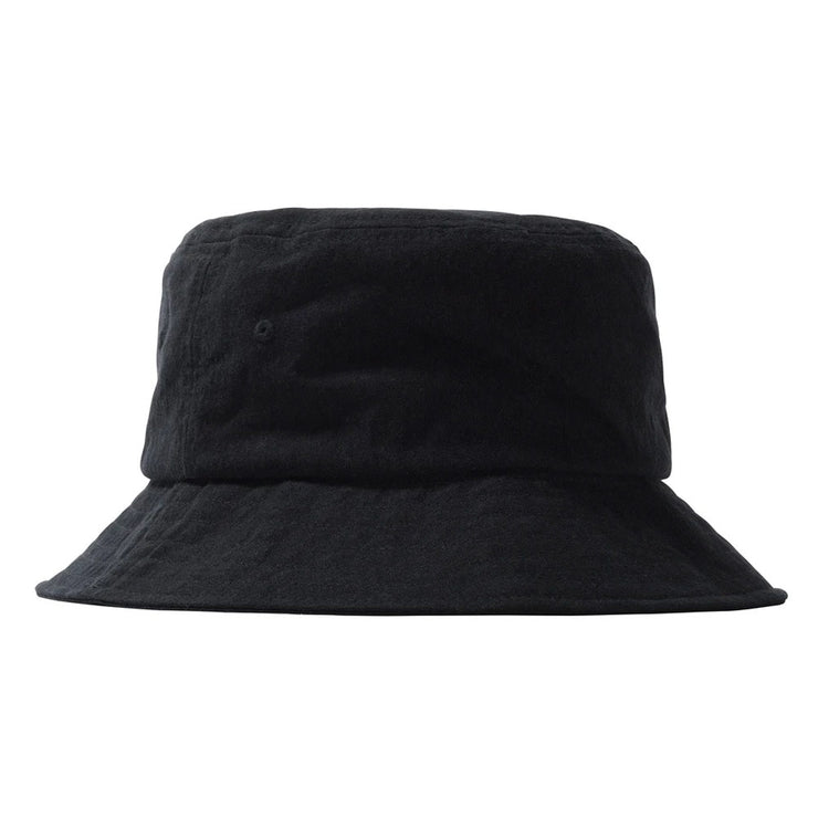 Big Logo Canvas Bucket Hat 'Black'