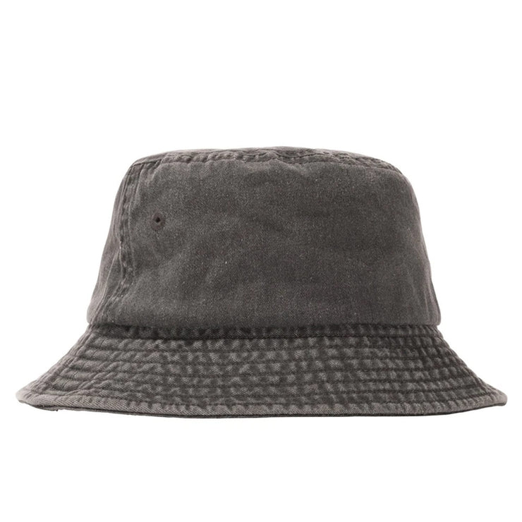 Stock Washed Bucket Hat 'Black'