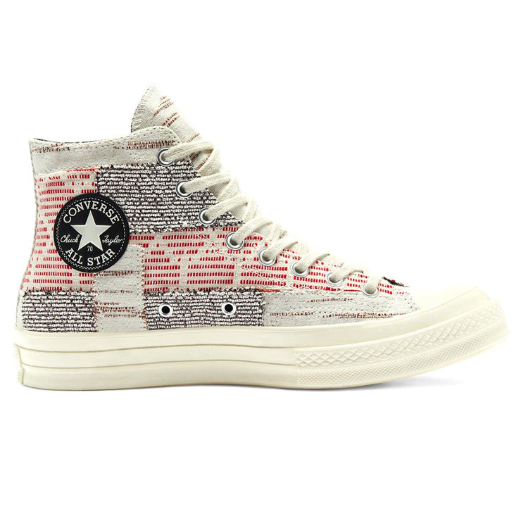 Patchwork Chuck 70 HI 'Twill / Light Gray / Egret'