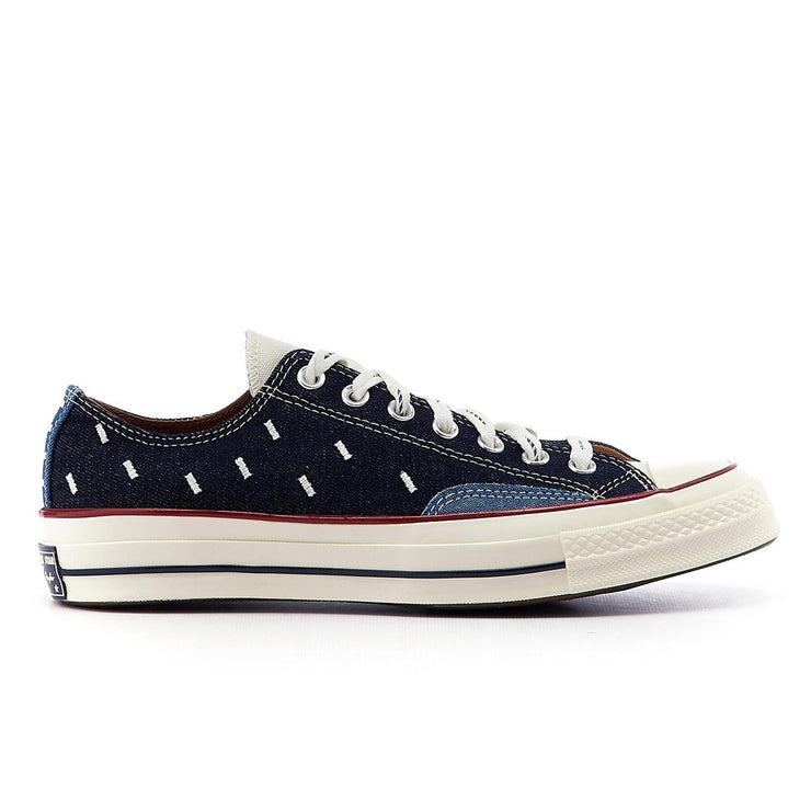 Chuck 70 OX 'Midnight Navy / Egret / Garnet'