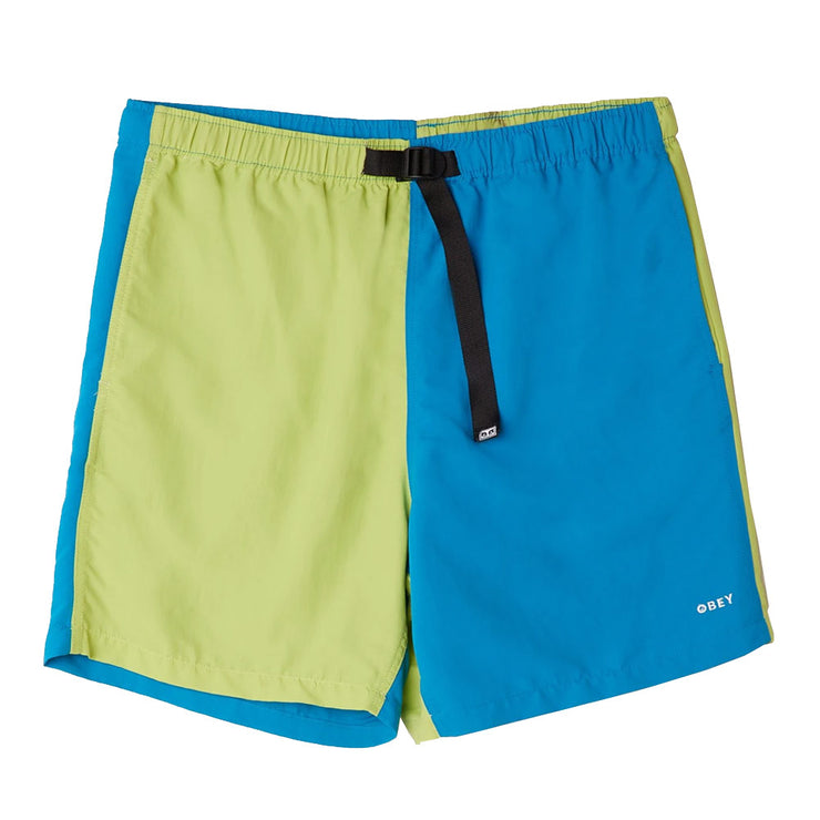 Easy Relaxed Recess Short 'Lime Multi'