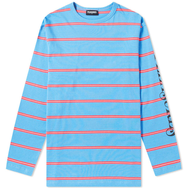 Scream Striped L/S 'Bright Blue'