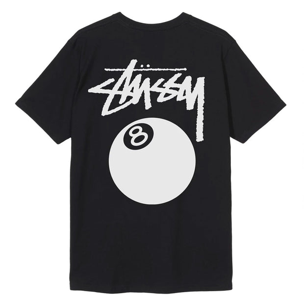 8 Ball Pig. Dyed Tee 'Black'