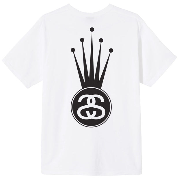 Crown Link Tee 'White'