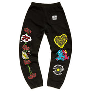 Be Mine Sweat Pants 'Black'
