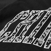 Paisley Arc Tee 'Black'