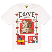 Never Be Alone Bear T-Shirt 'White'