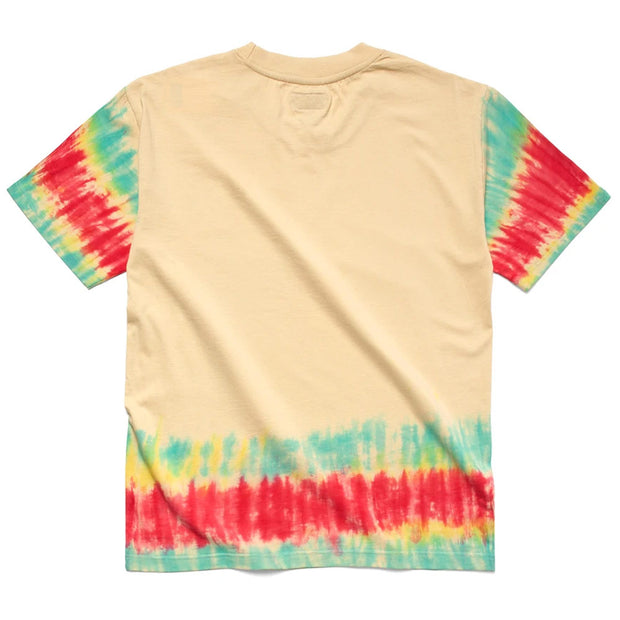 Happy House Tee 'Edge Tye-Dye'