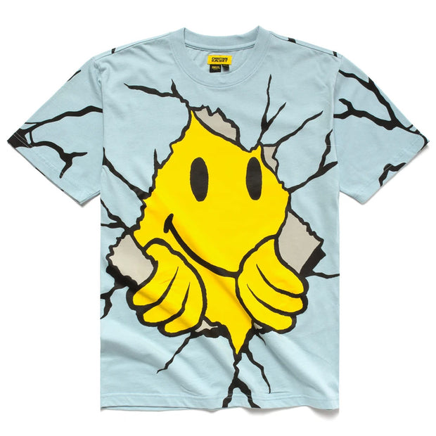 Smiley Dry Wall Breaker Tee 'Blue'