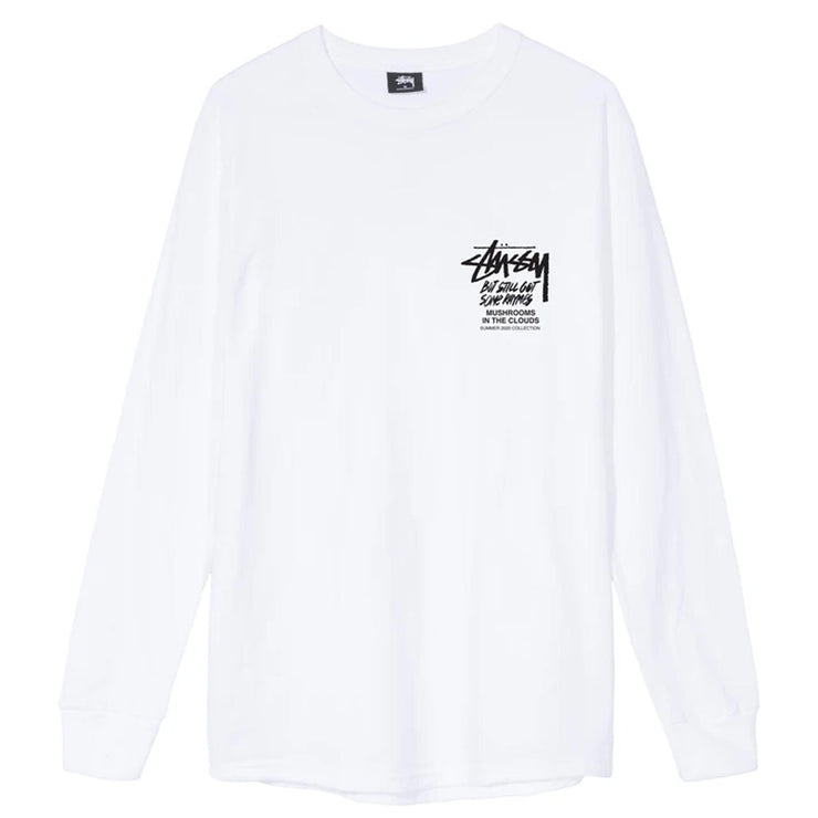 In The Clouds L/S Tee 'White'