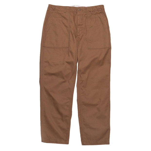 Fatigue Pant 'Brown Cotton Herringbone'