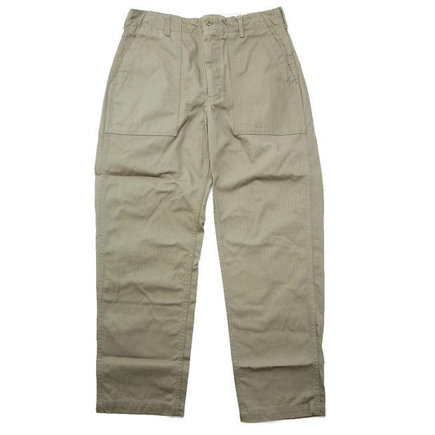 Fatigue Pant 'Olive Cotton Herringbone'
