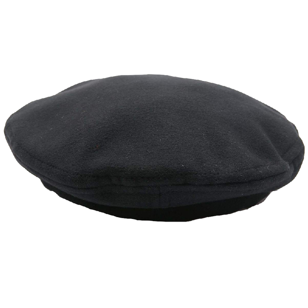 Beret 'Black Polyester Fake Meltor'