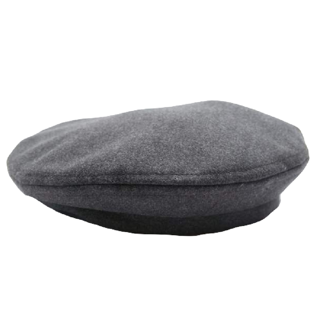 Beret 'Charcoal Polyester Fake Meltor'