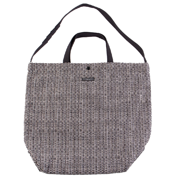 Carry All Tote 'Grey Black PC Faux Tweed'