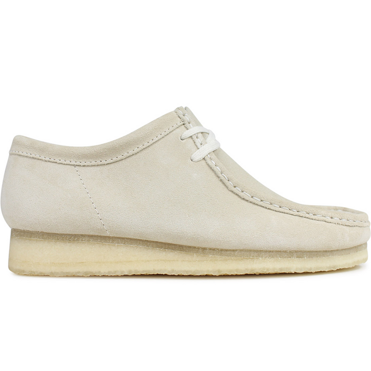 Wallabee Boot 'Off White Suede'