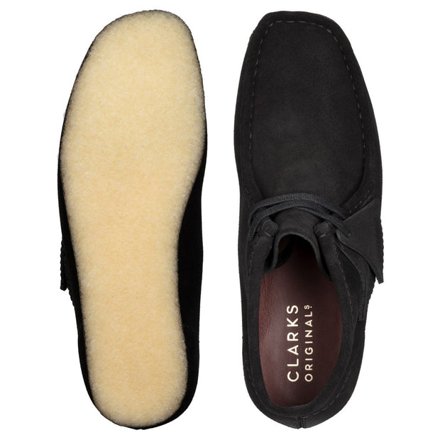 Wallabee Boot 'Black Suede'