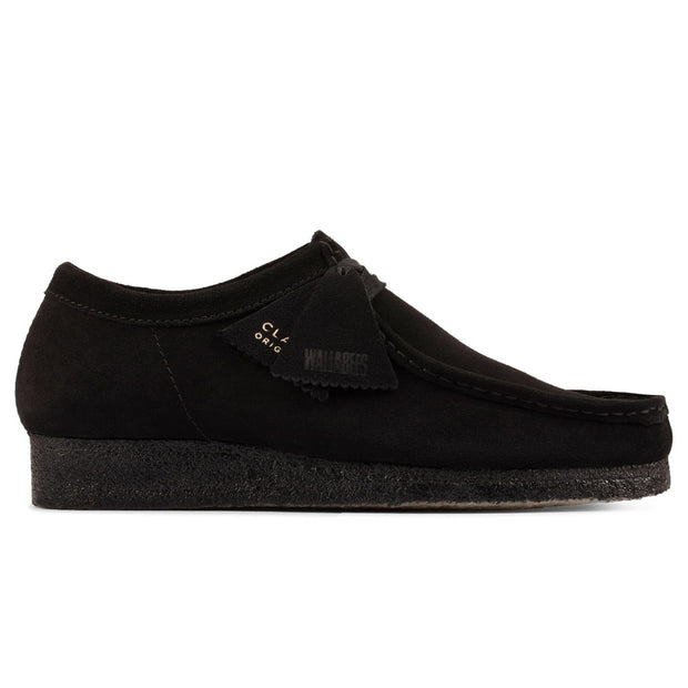 Wallabee 'Black Suede'