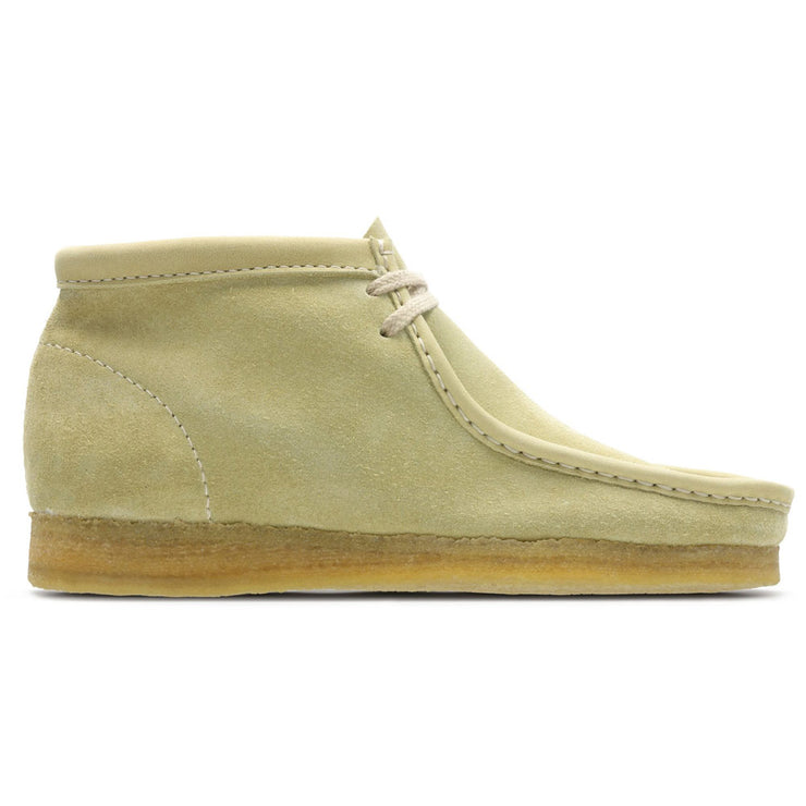 Women's Wallabee Boot. 'Maple Suede'