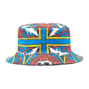 Border Bandana Bucket Hat 'Multi'