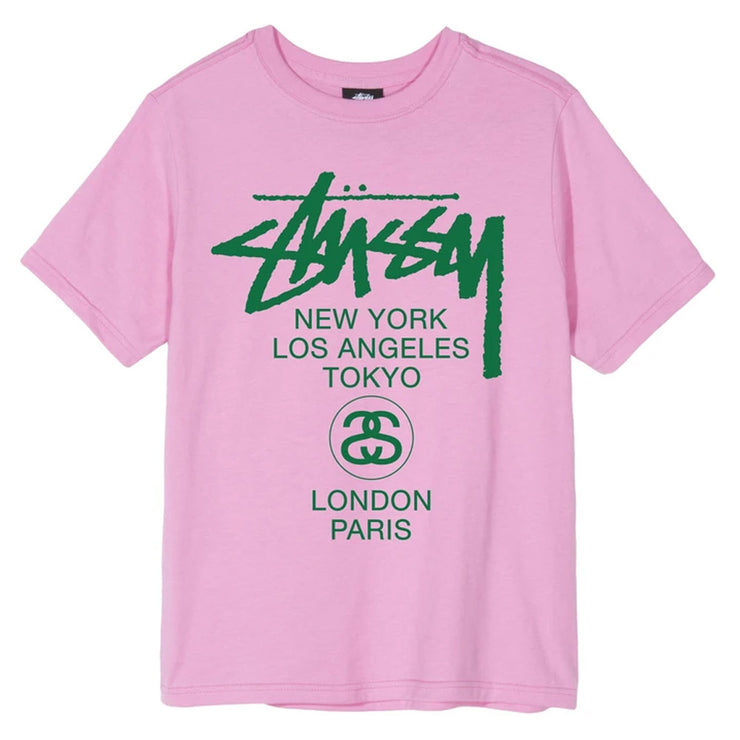 World Tour Tee 'Pink'