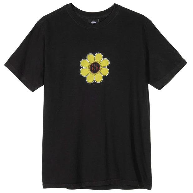 IST Daisy Pig. Dyed Tee 'Black'